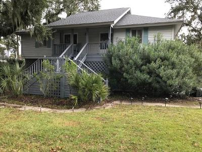 Edisto Island SC Single Family Home For Sale: $430,000