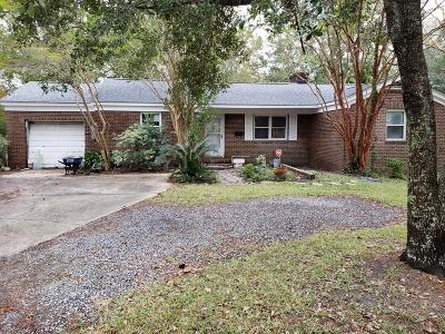 Charleston Single Family Home For Sale: 1215 Wimbee Drive