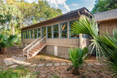 Kiawah Island Single Family Home For Sale: 335 Low Oak Woods Road
