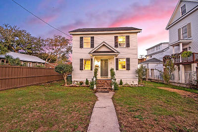 Charleston Single Family Home For Sale: 62 Barre Street