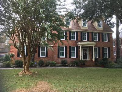 Mount Pleasant Single Family Home For Sale: 1250 Hidden Lakes Drive
