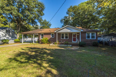 Mount Pleasant Single Family Home For Sale: 1484 Simmons Street