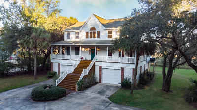Johns Island Single Family Home For Sale: 2211 Shoreline Drive