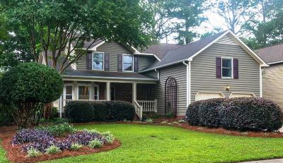 Charleston Single Family Home For Sale: 1724 W Sandcroft Drive