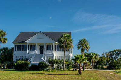 Edisto Island SC Single Family Home For Sale: $715,000