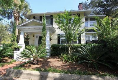Charleston Single Family Home For Sale: 198 Ashley Avenue