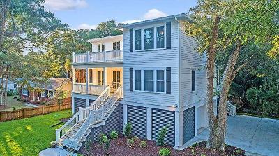 Isle Of Palms Single Family Home For Sale: 3503 Hartnett Boulevard