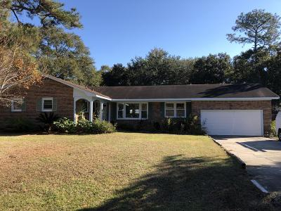 Charleston Single Family Home For Sale: 2314 W Palmer Drive