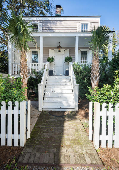 Charleston Single Family Home Contingent: 20 1/2 Duncan Street