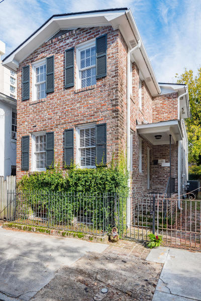 Charleston Single Family Home For Sale: 130 Logan Street