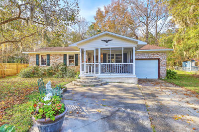 Goose Creek Single Family Home Contingent: 207 N Pandora Drive