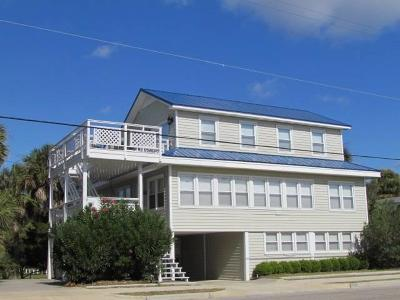 Edisto Beach Single Family Home For Sale: 209 Palmetto Boulevard