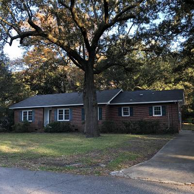 James Island Single Family Home For Sale: 846 Godber Street