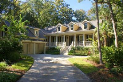 Johns Island Single Family Home For Sale: 2923 Baywood Drive