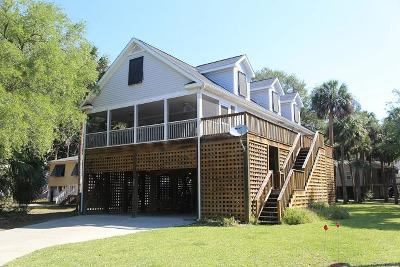 Edisto Beach Single Family Home For Sale: 1513 Marianne Street