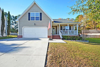Goose Creek Single Family Home Contingent: 166 Red Cypress Drive