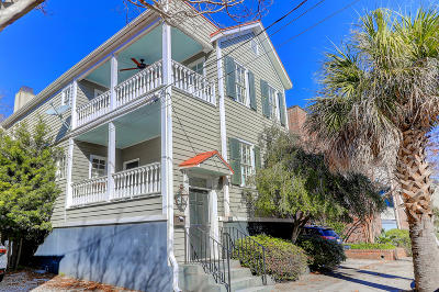 Charleston Single Family Home For Sale: 86 1/2 Morris Street