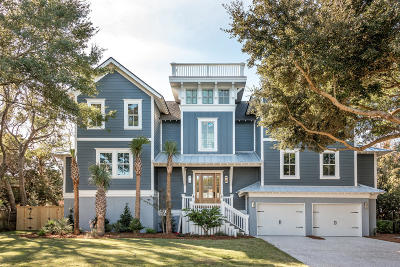 Isle Of Palms Single Family Home For Sale: 3 23rd Avenue