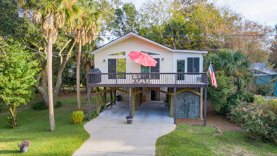 Folly Beach Single Family Home For Sale: 203 E Huron Avenue