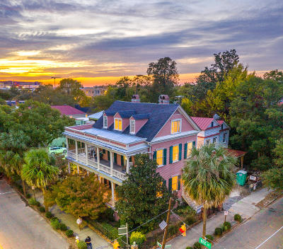 Charleston Multi Family Home Contingent: 201 Ashley Avenue