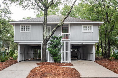 Isle Of Palms Single Family Home For Sale: 13 Twin Oaks Lane