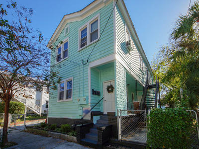 Charleston Multi Family Home For Sale: 429 Race Street #A,  B,