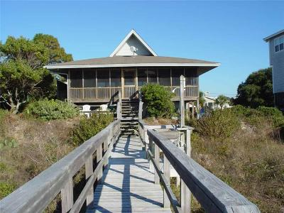 Edisto Beach Single Family Home For Sale: 3204 Palmetto Boulevard