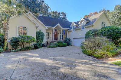 Seabrook Island Single Family Home For Sale: 2829 Capn Sams
