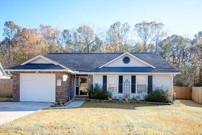 Goose Creek Single Family Home Contingent: 252 Two Hitch Road