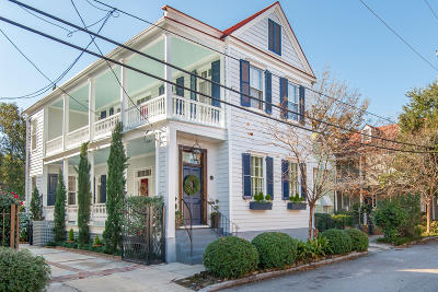 Charleston Single Family Home For Sale: 85 Alexander Street