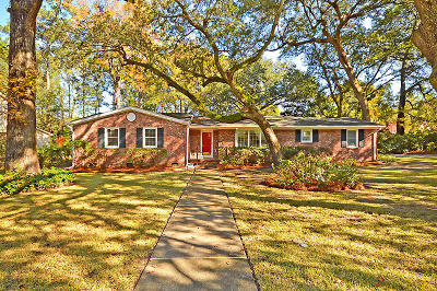 Charleston Single Family Home Contingent: 1256 Keble Road