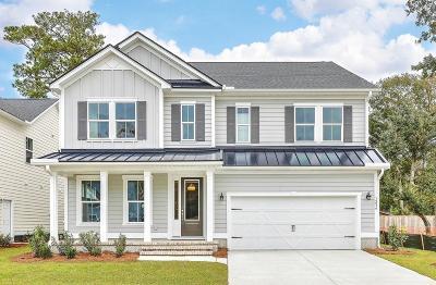 Mount Pleasant Single Family Home For Sale: 1004 Gannett Road