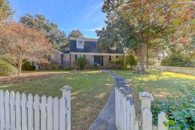 Charleston Single Family Home For Sale: 740 Shamrock Lane