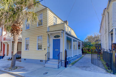 Charleston Single Family Home For Sale: 83 Spring Street