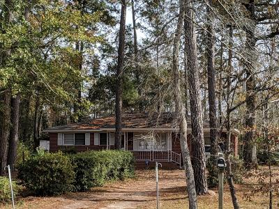 Single Family Home For Sale: 1862 S Live Oak Drive