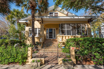 Charleston Single Family Home For Sale: 16 Halsey Street