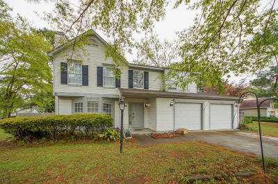 Charleston Single Family Home For Sale: 8316 Loggers Run