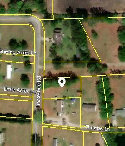Residential Lots & Land For Sale: Horseshoe Road