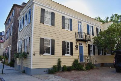 Charleston Single Family Home For Sale: 45 Tradd Street