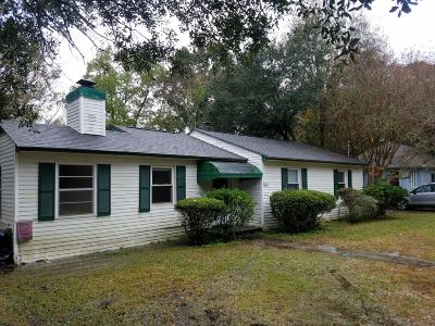 Charleston Single Family Home For Sale: 1239 Sunset Drive