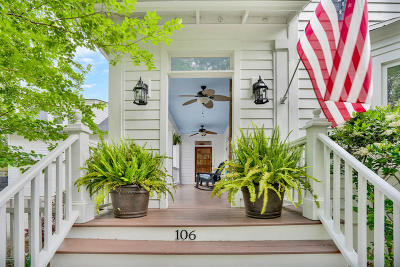 Daniel Island Single Family Home For Sale: 106 Codners Ferry Street