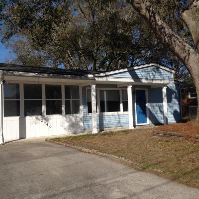 Charleston Single Family Home For Sale: 2140 Barbour Drive