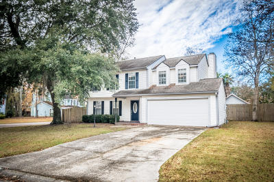 North Charleston Single Family Home For Sale: 8108 Scottswood Drive