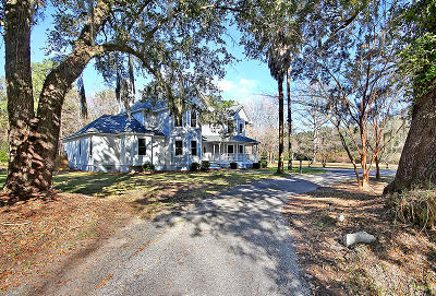 Johns Island Single Family Home For Sale: 2612 Starfish Drive