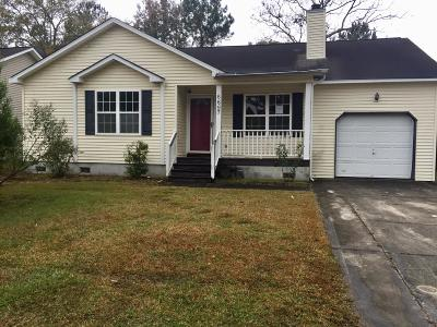 North Charleston Single Family Home For Sale: 6697 Bent Creek Drive