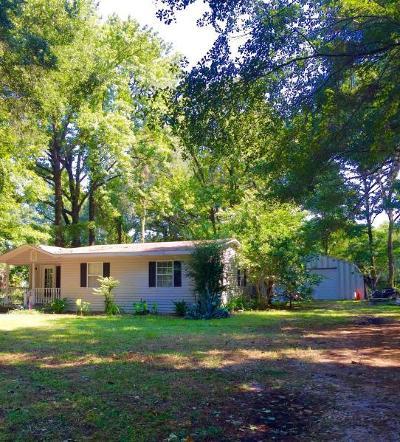 Johns Island Single Family Home For Sale: 1827 Pineland Drive