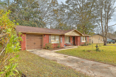 North Charleston Single Family Home For Sale: 7708 Knollwood Drive