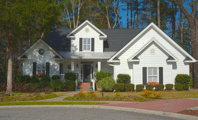 North Charleston Single Family Home For Sale: 8645 Woodland Walk