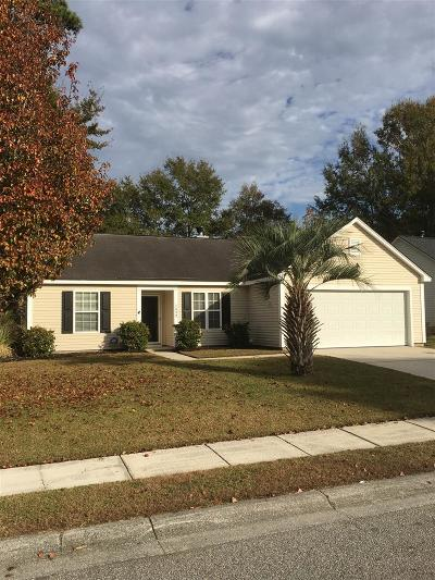 Mount Pleasant Single Family Home Contingent: 2459 Cotton Creek Drive