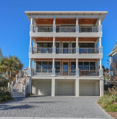 Isle Of Palms Single Family Home For Sale: 915 Ocean Boulevard